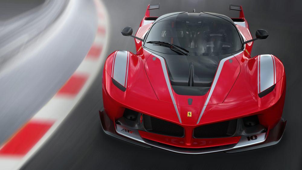 Ferrari FXX-K Super Sport Car Large Poster Wall Art Print Size A4 A2 A1 A0