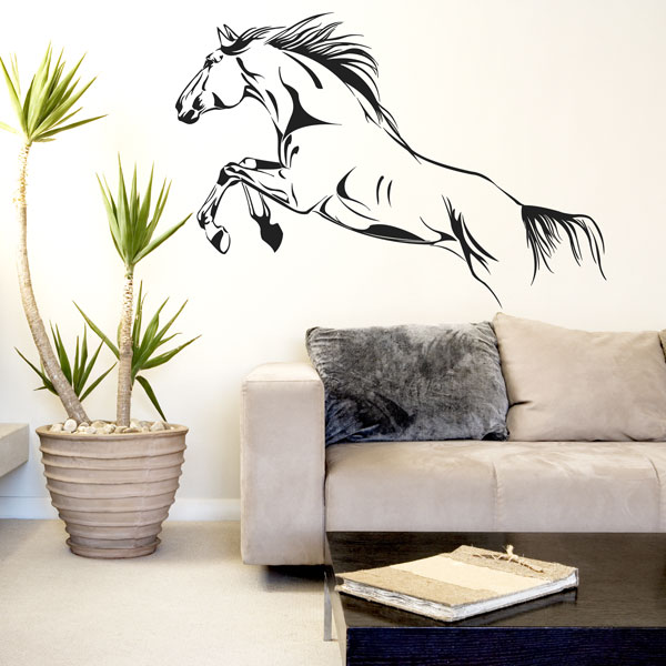 WALLIES Horse Wall Art Stickers ART Vinyl Decal Stylish Home Graphics Bedroom